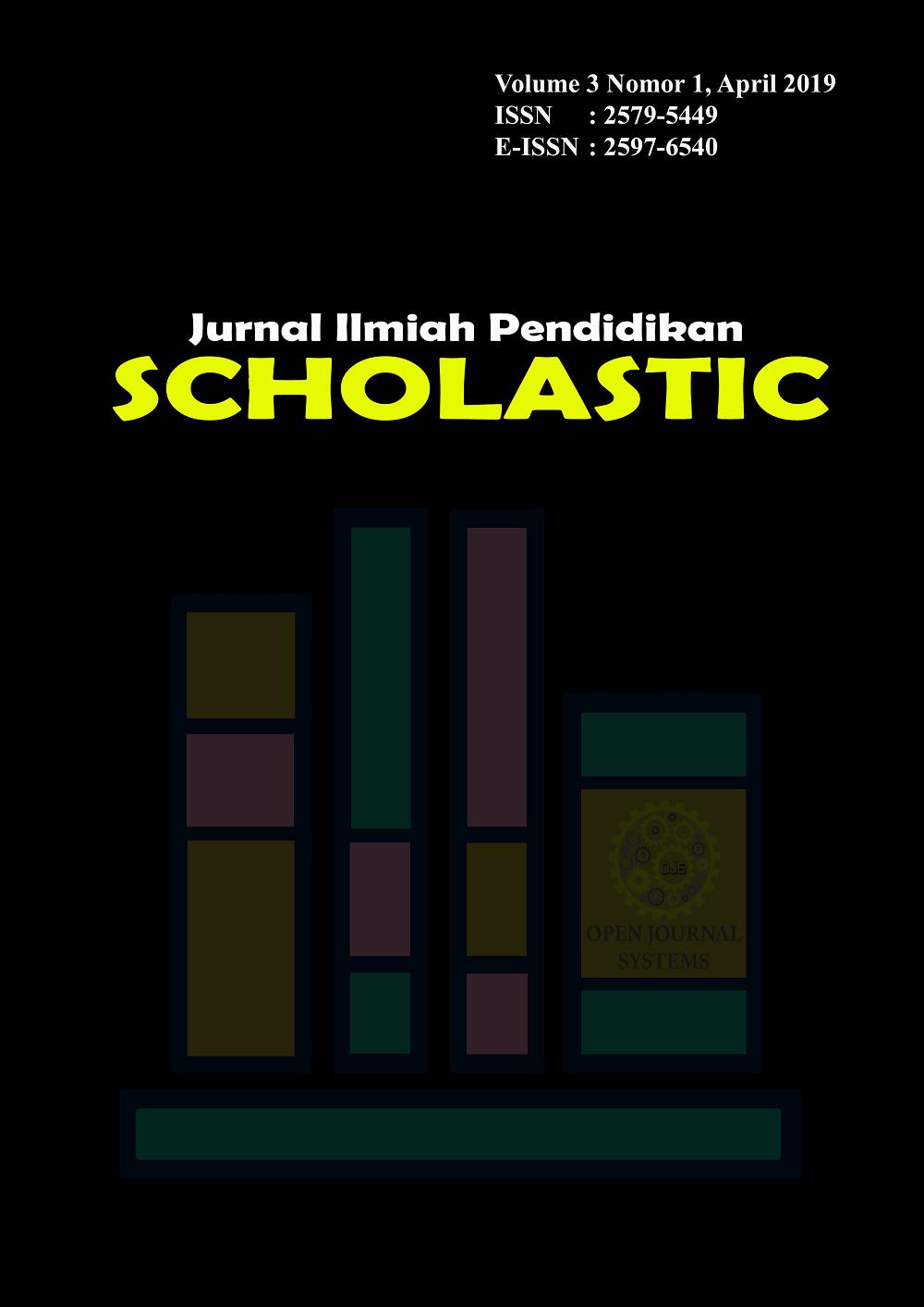 Jurnal JIPS (Jurnal Ilmiah Pendidikan Scholastic) #Jurnal JIPS